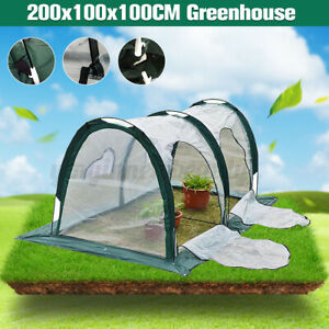 2x1x1m Mini Greenhouse Home Outdoor Flower Plant Gardening Winter Shelter