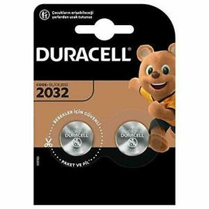 Duracell Coin Cell 3v Batteries 2s (DL2032B2)