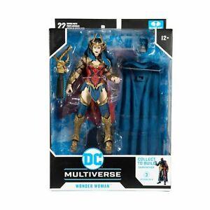 McFarlane Toys DC Multiverse Wonder Woman (Build a Figure Darkfather wave) BNIB