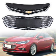OEM Front Bumper Upper Grill Middle Lower Grille For Chevrolet Cruze 2016-2017