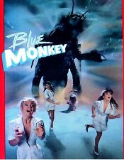 Blue Monkey DVD 1997 rare horror movie, fullscreen, fast shipping
