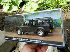 007 JAMES BOND Land Rover Defender - Casino Royale - 1:43 BOXED CAR MODEL