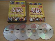 Los Sims PC Colección Completa Incluye Simms 1 juego base y todos los paquetes de expansión
