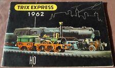 Trix Express Katalog von 1962