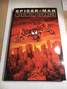 Spider-Man Maximum Carnage Marvel Deluxe TPB RARE OOP 1-14 Venom Symbiote Shriek