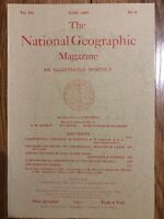 (REPRINT!) National Geographic Magazine June 1896 Vol. VII No.6, Mexican Census