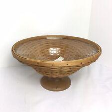 Longaberger Collector Club Compote Basket & Liner Set