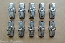SET of 10! SONOR BASS DRUM LUGS with SLEEVES and MOUNTING BOLTS!!! LOT #J65