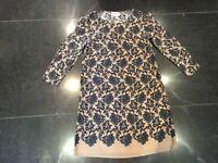 Alice Temperley New & Genuine Ladies UK Size 8 Long Sleeved Silk Floral Dress