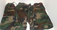 Men's Small Reg Woodland Camo Army Pants 18 Inch Waist