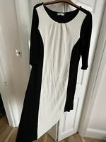 TU Dress Size 14 Black And White , Soft