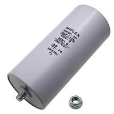 AnlaufKondensator MotorKondensator 70µF 450V 55x119mm Stecker M8 ; Miflex ; 70uF