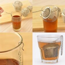 Tea Ball Spice Strainer Mesh Infuser Filter Stainless Steel Herbal Practical H9