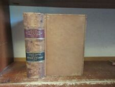 Old COMPTROLLER OF CURRENCY Leather Book 1885 BANKING TAX SAVINGS BANK ECONOMICS