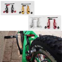 2pcs Litepro BMX Ultra-light V brake Long/Short Arm Brakes for Folding Bike Red