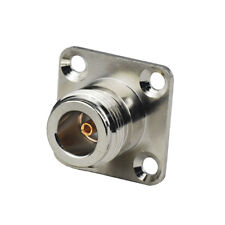 N Type Female 4 Hole Flange Mount Connector for 0.086