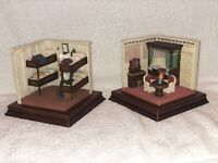 BOOKENDS SET OF 2 SUITES OF TITANIC HARLAND & WOLFF MARITIME HERITAGE COLLECTION