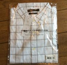 New Men's French Connection Square White Shirt Size Medium £19.99 or best offer