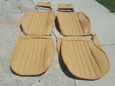 PORSCHE SEAT KIT 911 912 FRONT & REAR UPHOLSTERY LEATHER SEAT KIT BEAUTIFUL NEW