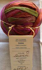 One Unused Ball Prism Yarn Diana Color Senegal 2oz 55yds Usa Made 100% Viscose