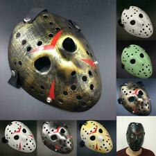 Horror Scary Hockey Halloween Mask Freddy Jason Voorhees Friday Cosplay Costume