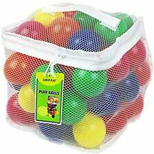 Click N' Play CNP30336 Phthalate BPA Crush Proof Plastic Pit Balls 6 Color