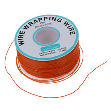 PCB Solder orange flexibel 0.5mm Außen Dia 30awg Wire Wrapping Wrap 1000f z8z9