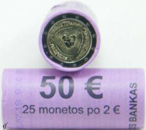 Rolle 2 Euro Gedenkmünzen Litauen 2019 Sutartinės