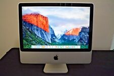 "Apple iMac 20"" - 4GB -  Keyboard and Mouse, Webcam, WiFi+BT, Speakers, + DVD"