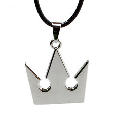 Hot Sale Anime Kingdom Hearts Necklace Silver Alloy Pendant Jewelry Cosplay Gift