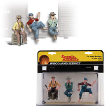 Woodland Scenics Accents A2548 Figures The Bumm Brothers G Scale