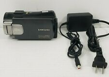 "SAMSUNG HMX-S10 10MP 3.5"" Touch LCD 18X Optical Zoom Full HD with charger"