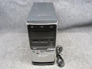 Acer Aspire T180 PC Tower AMD Athlon 64 x2 2.00GHz 4GB RAM 250GB HDD