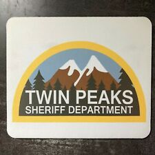 Twin Peaks Sheriffs Department Agent Dale Cooper David Lynch Computer Mouse Mat.