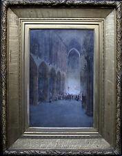 JAMES WHITLELAW HAMILTON 1860-1932 GLASGOW BOY CATHEDRAL SCOTTISH VICTORIAN ART