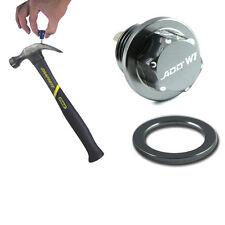 ADD W1 Magnetic Oil + Tranny Drain Plug Pkg w/ MT For Honda Acura gunmetal