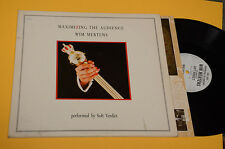 WIM MERTENS 2LP MAXIMIZING THE AUDIENCE ORIG 1985 GATEFOLD+INNER+INSERTO