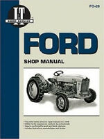 Ford 501 600 700 800 900 1801 2000 4000 Tractor Shop Service Manual I&T FO20 NEW