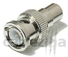 20 BNC Male RCA Female Adapter connector Plug Coax CCTV Cable Video Camera DVR