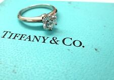 Tiffany & Co Platinum GIA .70ct D VVS2 Round Diamond Solitaire Engagement Ring