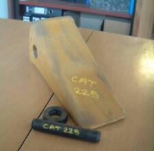 Excavator bucket tooth Cat 225 long tip 1U3352 c/w lock