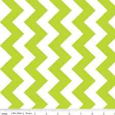 """MINKY CUDDLE Lime Green Chevron Fabric ~ Super Soft! By the Yard ~ 60"""" Wide"""
