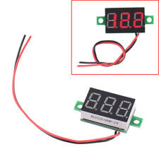 High Quality Electric Red LCD Digital Panel Voltmeter Volt Meter DC 4.5-30V New