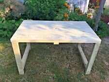 Handmade Wooden Garden Table - MADE TO ORDER - ANY SIZE AVAILABLE