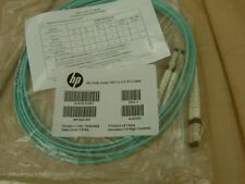 HP 2M Multi-Mode OM3 LC/LC FC Cable Mfr P/N AJ835-63001 NEW HP Bagged!