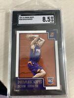 2015-16 Panini NBA Hoops #268 Devin Booker Phoenix Suns RC Rookie SCG 8.5 Mint