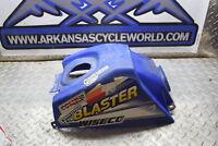 H3-10 BLUE PLASTIC TANK COVER  99 YAMAHA BLASTER YFS200 YFS 200 ATV FREE SHIP