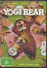 Justin Timberlake ~ Yogi Bear ~ Dan Aykroyd New/Sealed Genuine R4 Free Post