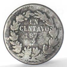 Mexico 1 Centavo Zs 1873 Zacatecas, KM# 391.9