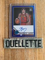 2019-20 Optic Kevin Porter Jr Blue Prizm Rated Rookie RC Card Auto 49/49 ssp